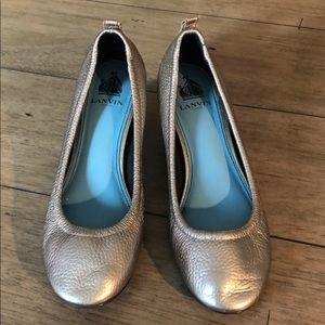 Lanvin Metallic Heels